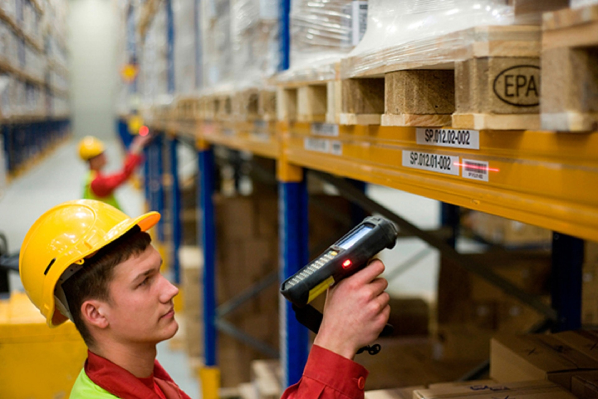 Barcode solution in warehouse management